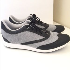 ADIDAS Spikeless Golf Shoes Grey Black White